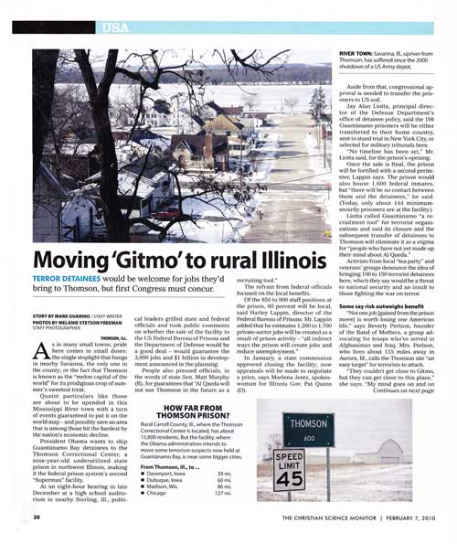 Gitmo moves to rural IL