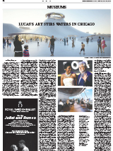 Lucas's Art Stirs Waters in Chicago