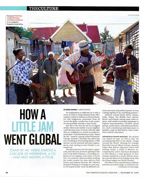 How a Little Jam went Global