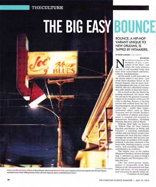 The Big Easy Bounce