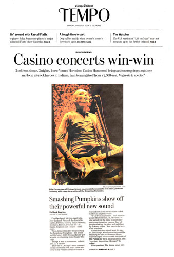 Smashing Pumpkins, Chicago Tribune